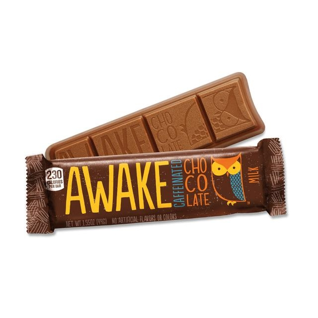 AWAKE Milk Chocolate Energy Bar