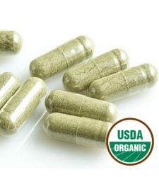 SUPERFOOD Organic Green Powder Capsules (100-ct.)