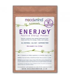 ENERJOY Positive Energy Powder with Maca, Mucuna Pruriens, and Forskohlii