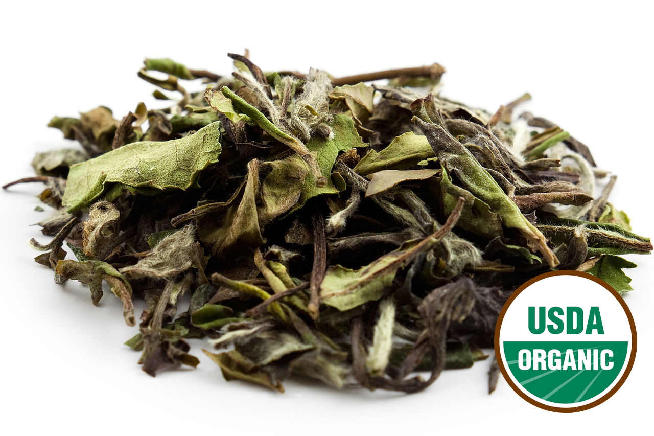 WHITE PEONY organic loose leaf tea 2 oz (56g)
